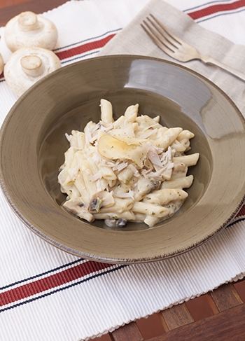 la-cuchara-azul-pasta-nata-champiñones-2