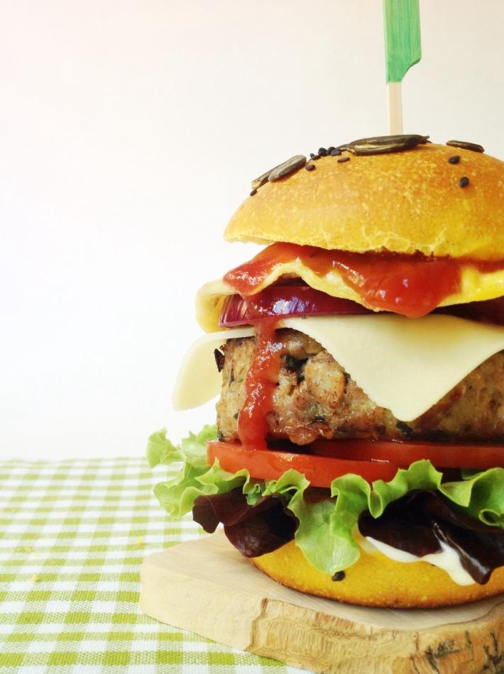 lacucharazul_hamburguesa_pavo