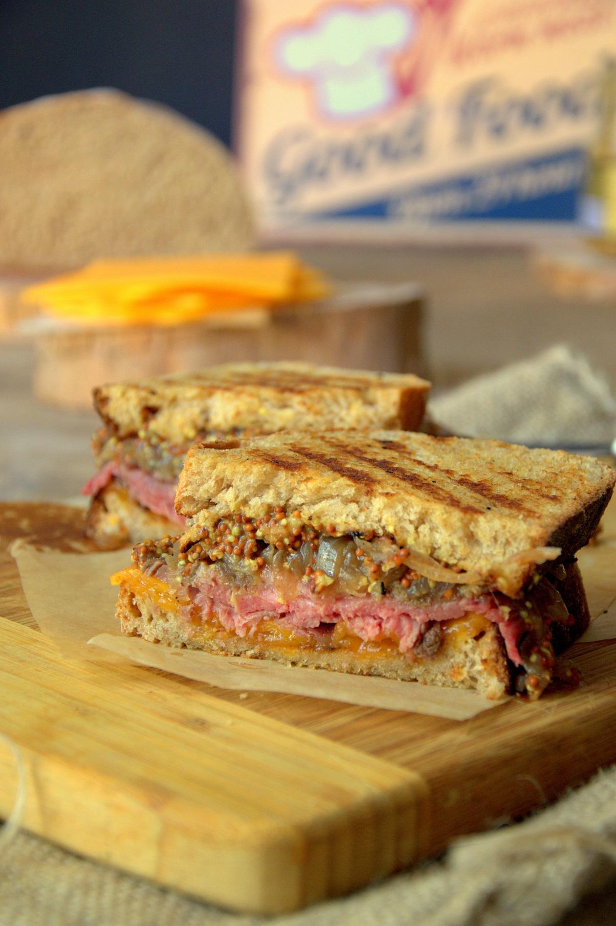 Sandwich de Roast Beef - Organizados