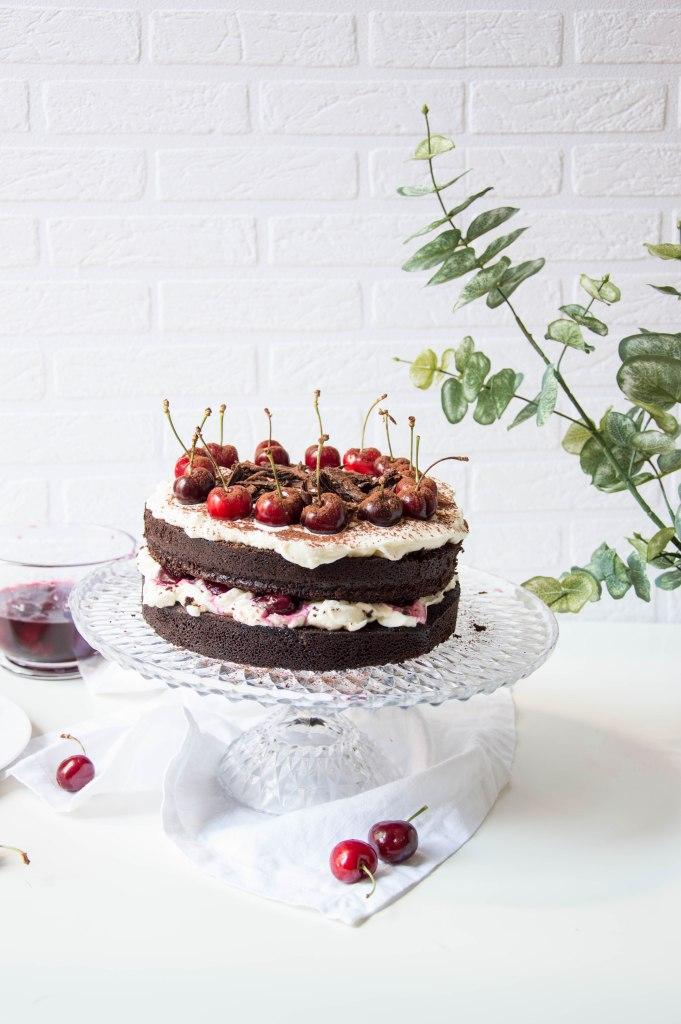 tarta chocolate y cereza_